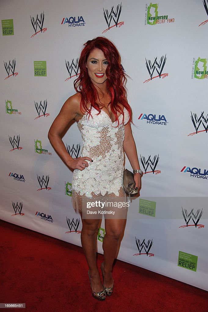 Natalie Eva Marie attends the Superstars For Sandy Relief at Cipriani Wall Street on April 4, 2013 in New York City.