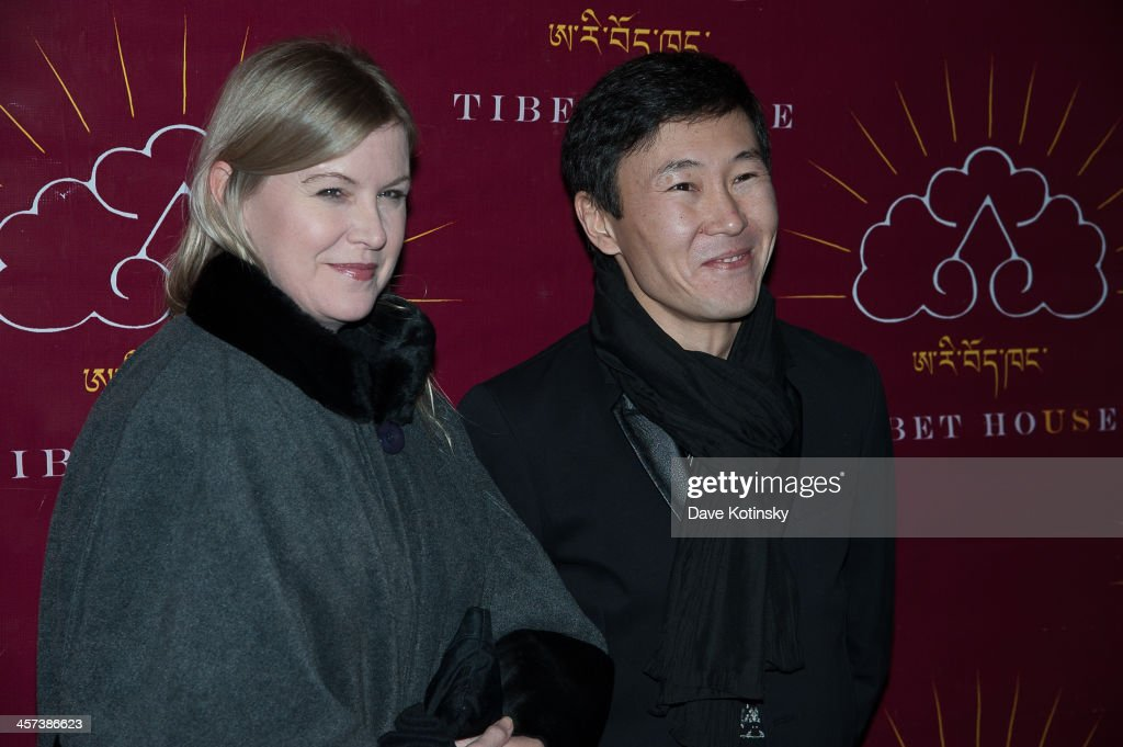 Natalie Ford and Zorikto Dorzhiev attends the 11th annual Tibet House US Benefit Auction> at Christie's Auction House on December 16, 2013 in New York City.