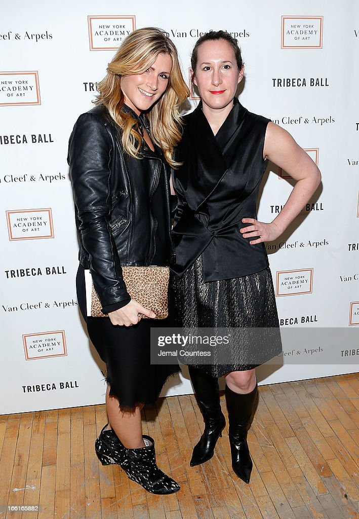 Natalie Frank and Joey Lico attend the 2013 Tribeca Ball at New York Academy of Art on April 8, 2013 in New York City.