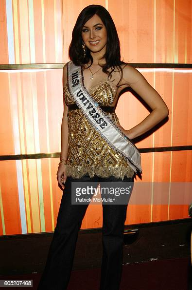 Natalie Glebova attends Joonbug hosts the launch of GoTrumpcom sponsored by Blue Star Jets at Marquee NYC USA on January 24 2006