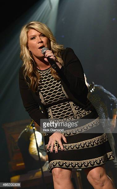 Natalie Grant performs at the 2nd Annual KLOVE Fan Awards at the Grand Ole Opry House on June 1 2014 in Nashville Tennessee