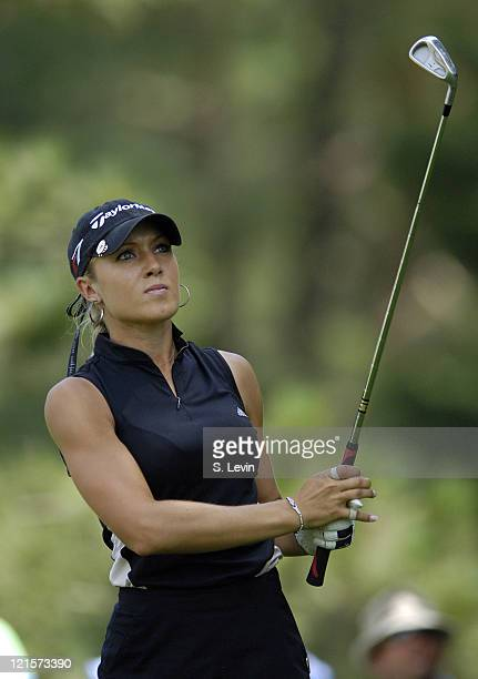 Natalie Gulbis during the third round of the Jamie Farr Owens Corning Classic at Highland Meadows Golf Club in Sylvania Ohio on Saturday July 15 2006