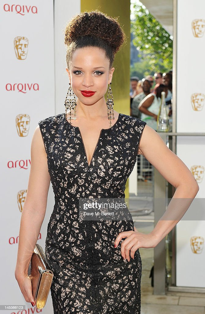 Natalie Gumede arrives at the Arqiva British Academy Television Awards 2012 at Royal Festival Hall on May 27, 2012 in London, England.