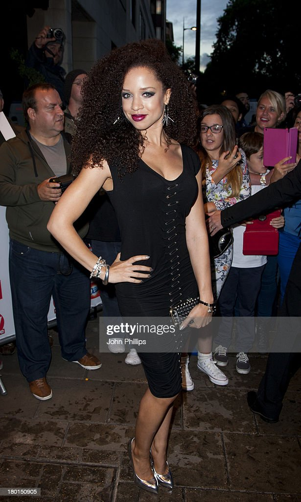 Natalie Gumede attends the TV Choice Awards 2013 at The Dorchester on September 9, 2013 in London, England.