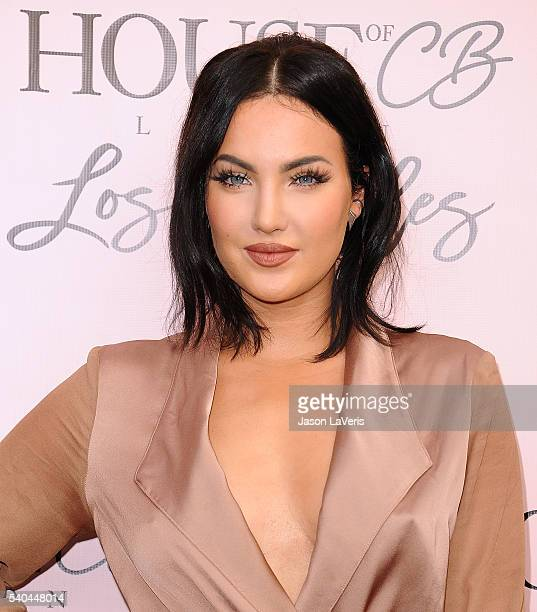 Natalie Halcro attends the House of CB flagship store launch at House Of CB on June 14 2016 in West Hollywood California