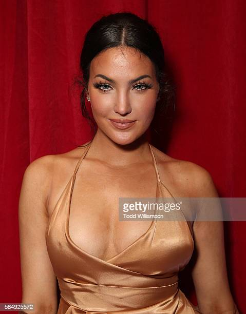 Natalie Halcro attends the Maxim Hot 100 Party at Hollywood Palladium on July 30 2016 in Los Angeles California