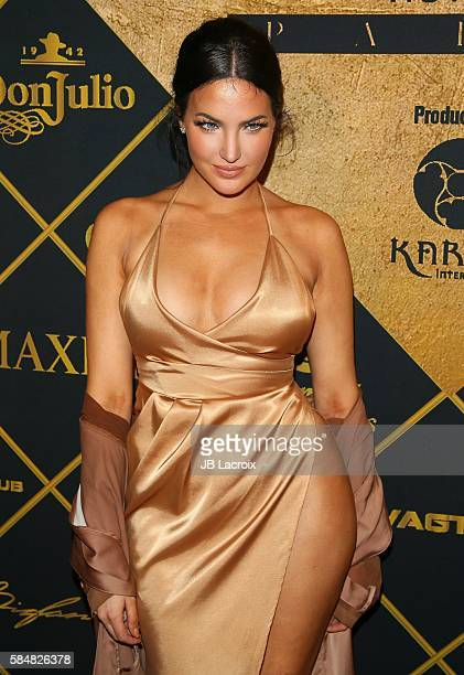 Natalie Halcro attends the Maxim Hot 100 party on July 30 2016 in Hollywood California