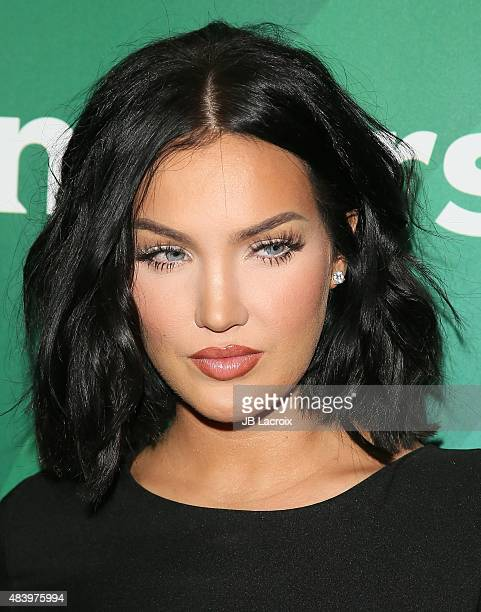 Natalie Halcro attends the NBCUniversal press tour 2015 at the Beverly Hilton Hotel on August 12 2015 in Beverly Hills California