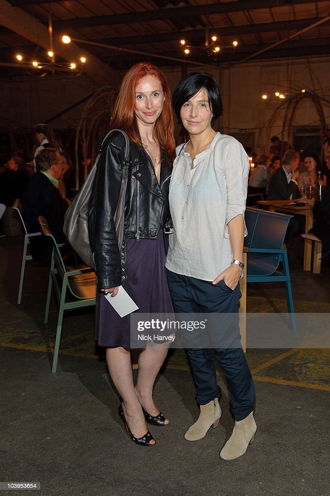 Natalie Hand and <a gi-track='captionPersonalityLinkClicked' href=/galleries/search?phrase=Sharleen+Spiteri&family=editorial&specificpeople=214718 ng-click='$event.stopPropagation()'>Sharleen Spiteri</a> attend Hel Yes! - Design And Food From Helsinki Exhibition on September 9, 2010 in London, England.