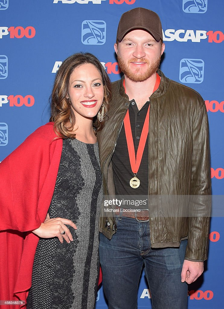 Natalie Harker and Eric Paslay attend the 52nd annual ASCAP Country Music awards at Music City Center on November 3 2014 in Nashville Tennessee