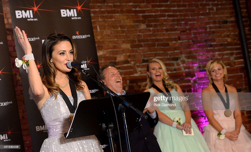 Natalie Hemby attends the 'Automatic' No. 1 party on June 30, 2014 in Nashville, Tennessee.