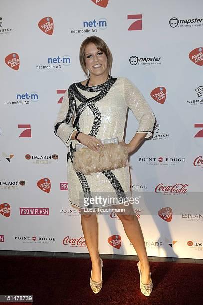 Natalie Horler attends the Music Meets Media night at Hotel Esplanade on September 7 2012 in Berlin Germany