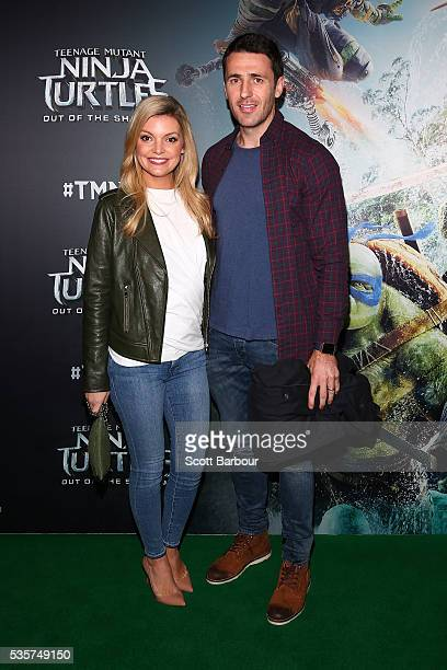 Natalie Hunter attends the Teenage Mutant Ninja Turtles Out of the Shadows fan screening at Village Cinemas Jam Factory on May 30 2016 in Melbourne...