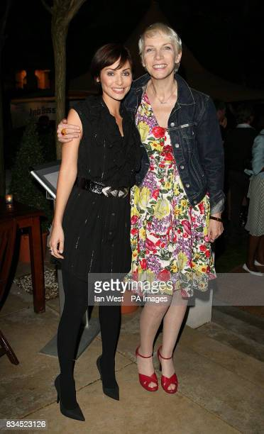 Natalie Imbruglia and Annie Lennox at The Observer Ethical Awards 2008 at the Hempel Hotel in London