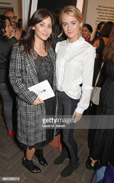 Natalie Imbruglia and Cressida Bonas attend the Warrior Games Exhibition VIP preview party sponsored by Chantecaille and hosted by HRH Princess...