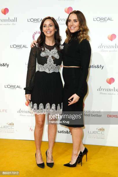 Natalie Imbruglia and Melanie C attend the Dreamball 2017 at Westhafen Event Convention Center on September 20 2017 in Berlin Germany