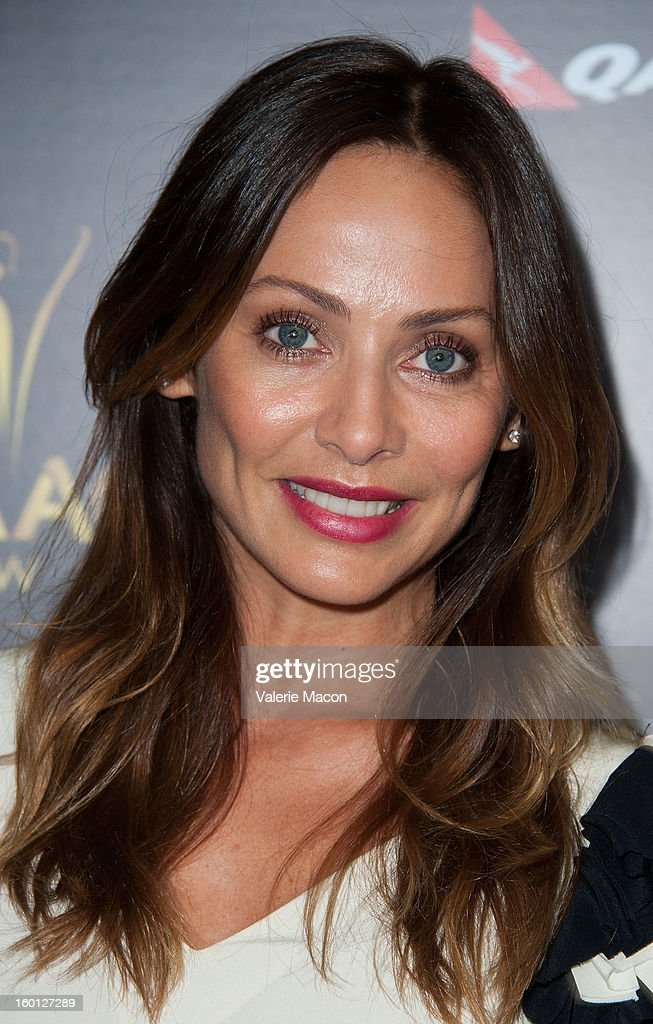Natalie Imbruglia arrives at Australian Academy Of Cinema And Television Arts' 2nd AACTA International Awards at Soho House on January 26, 2013 in West Hollywood, California.