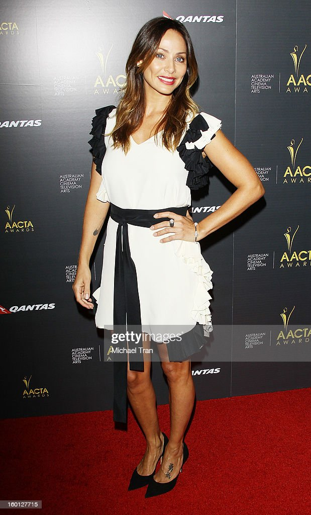 Natalie Imbruglia arrives at the 2nd AACTA International Awards held at Soho House on January 26, 2013 in West Hollywood, California.