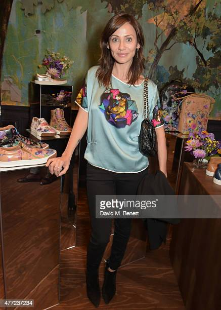 Natalie Imbruglia attends the LATHBRIDGE by Patrick Cox presentation and official launch during London Collections Men SS16 at Sketch on June 15 2015...