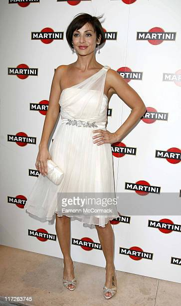 Natalie Imbruglia attends the Launch Party for the new Martini Rosato at Kensington Roof Gardens on June 4 2008 in London England