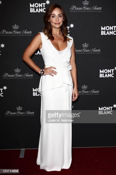 Natalie Imbruglia attends the Montblanc 'Collection Princesse Grace de Monaco' World Premiere presentation under the High Patronage of HSH Prince...