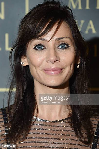 Natalie Imbruglia attends the Music Industry Trust Awards at The Grosvenor House Hotel on November 2 2015 in London England