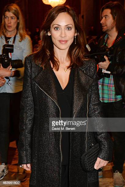 Natalie Imbruglia attends the Sass Bide A/W Show during London Fashion Week Fall/Winter 2015/16 at Australia House on February 20 2015 in London...