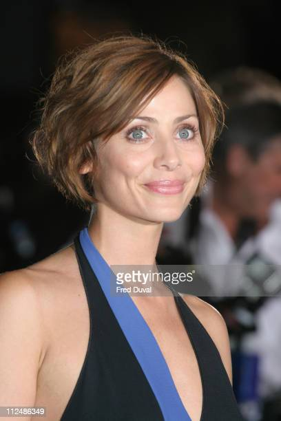 Natalie Imbruglia during London Fashion Week Spring/Summer 2007 Emporio Armani 'One Night Only' Arrivals at Earls Court in London Great Britain