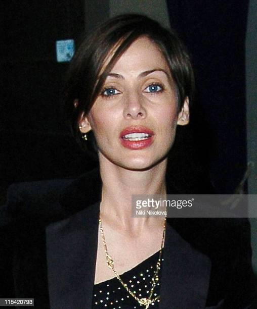 Natalie Imbruglia during Natalie Imbruglia's Birthday Party at Kilo Club January 4 2006 at Kilo Club in London Great Britain