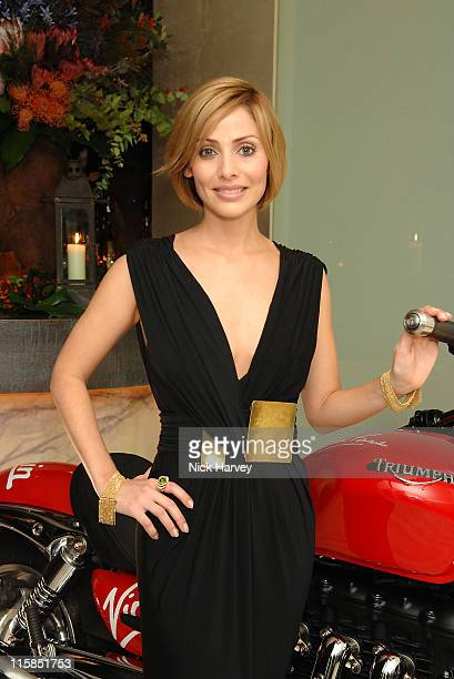 Natalie Imbruglia during Virgin Unite host End Fistula Fundraising event Inside at Nobu Berkeley in London Great Britain