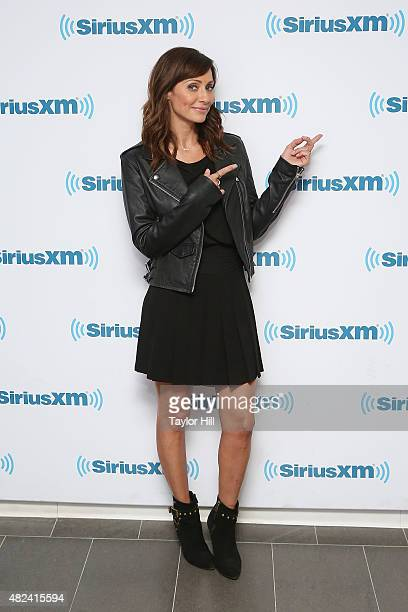 Natalie Imbruglia visits the SiriusXM Studios on July 30 2015 in New York City