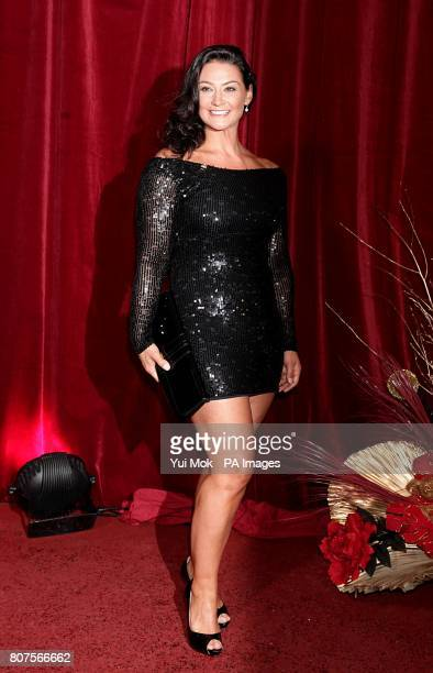 Natalie J Robb arriving for the 2010 British Soap Awards at the ITV Studios South Bank London