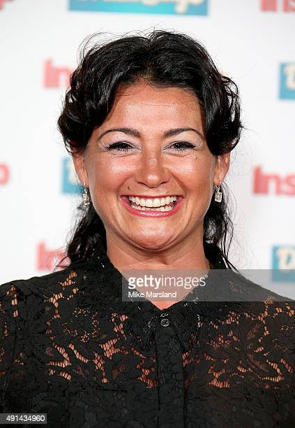 Natalie J Robb attends the Inside Soap Awards at DSKTRT on October 5 2015 in London England