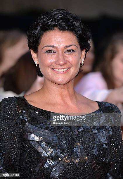 Natalie J Robb attends the Pride of Britain awards at The Grosvenor House Hotel on October 6 2014 in London England