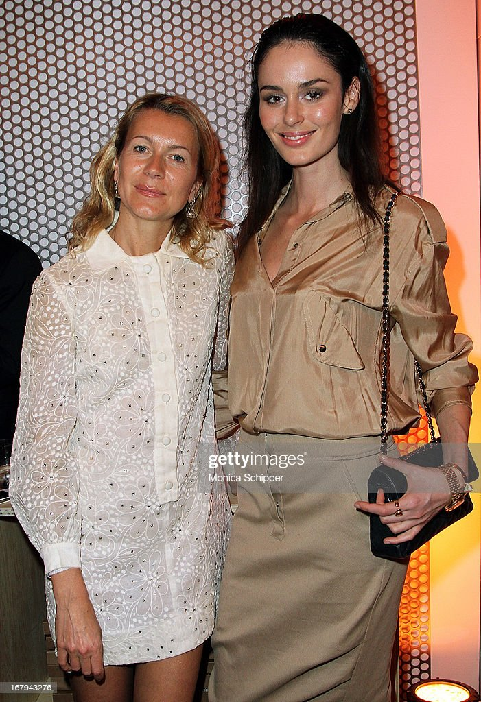 Natalie Joos and <a gi-track='captionPersonalityLinkClicked' href=/galleries/search?phrase=Nicole+Trunfio&family=editorial&specificpeople=3006654 ng-click='$event.stopPropagation()'>Nicole Trunfio</a> attend Roy Lichtenstein & Barneys New York Limited Edition Collection Launch Event at Barneys New York on May 2, 2013 in New York City.
