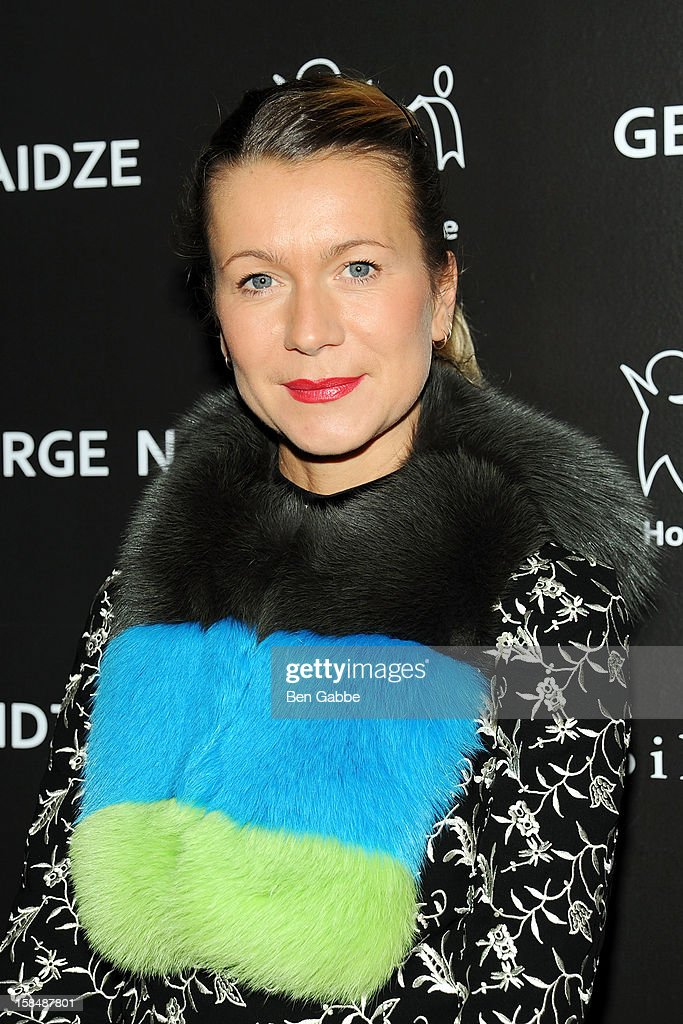 Natalie Joos attends Charity Meets Fashion Holiday Celebration Honoring The World's Children at Affirmation Arts on December 17, 2012 in New York City.