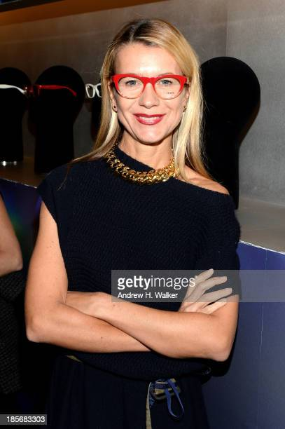 Natalie Joos attends PRADA Journal A Literary Contest In Collaboration With Feltrinelli Editore at the Prada Epicenter Store on October 23 2013 in...