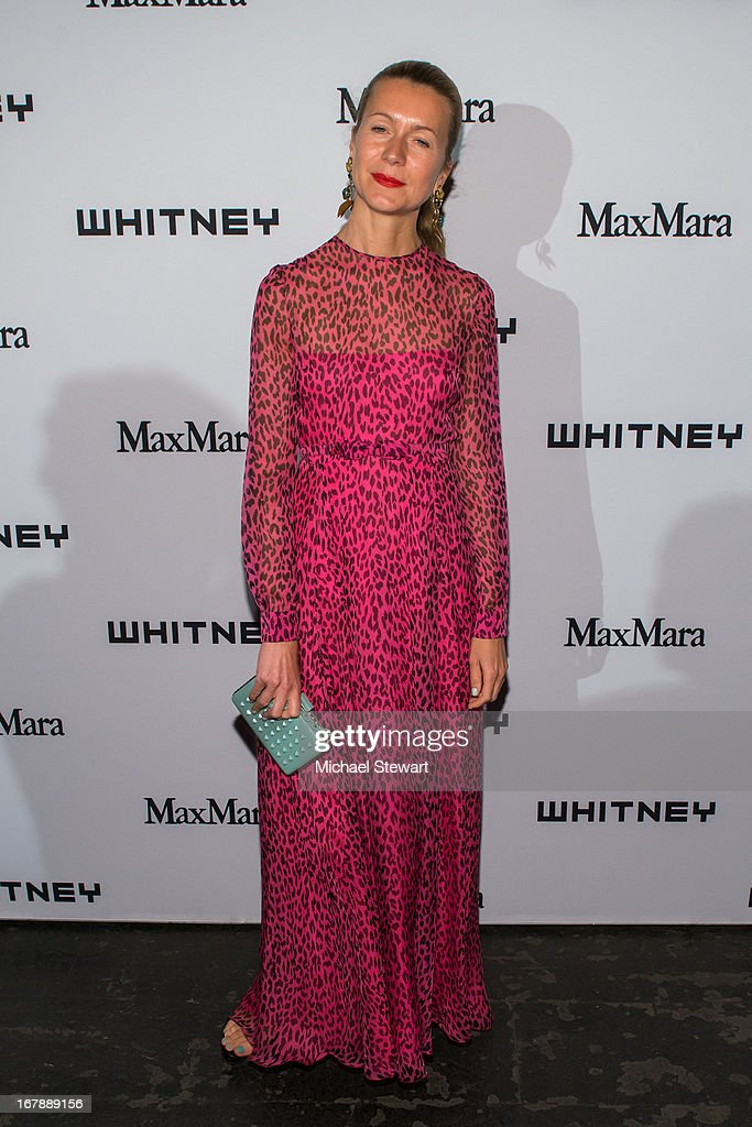 Natalie Joos attends the 2013 Whitney Art Party at Skylight at Moynihan Station on May 1, 2013 in New York City.