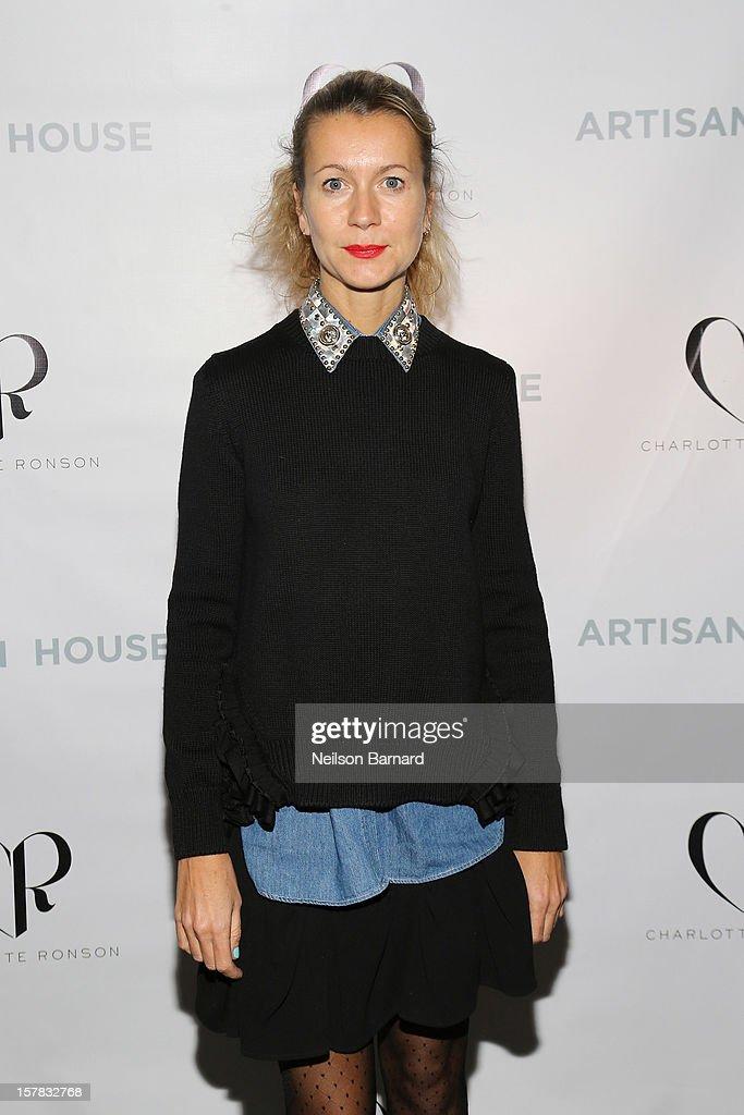 Natalie Joos attends the Charlotte Ronson + Artisan House Host Spring/Summer 2013 Handbag Preview on December 6, 2012 in New York City.