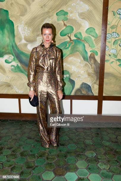 Natalie Joos attends the Wolk Morais Collection 5 Fashion Show at Yamashiro Hollywood on May 22 2017 in Los Angeles California