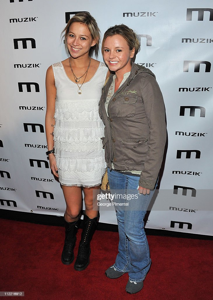 Natalie Kenly and Bree Olson attend the official after-party for his 'Torpedo of Truth' tour at Muzik on April 14, 2011 in Toronto, Canada.