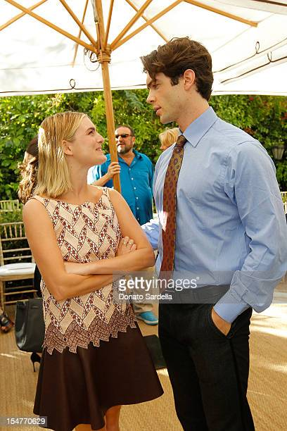 Natalie Love and Ethan Peck attend CFDA/Vogue Fashion Fund Event hosted by Lisa Love and Mark Holgate and sponsored by Audi Beautycom American...