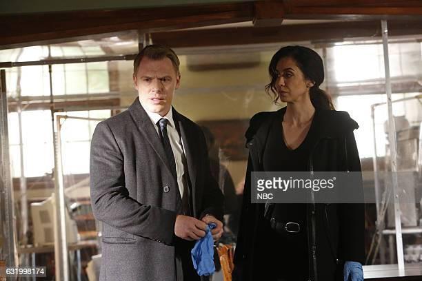 THE BLACKLIST 'Natalie Luca' Episode 412 Pictured Diego Klattenhoff as Donald Ressler Mozhan Marno as Samar Navabi