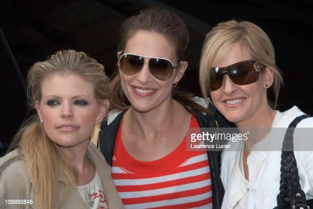 Natalie Maines Emily Erwin Robison and Martie Erwin Maguire of the Dixie Chicks