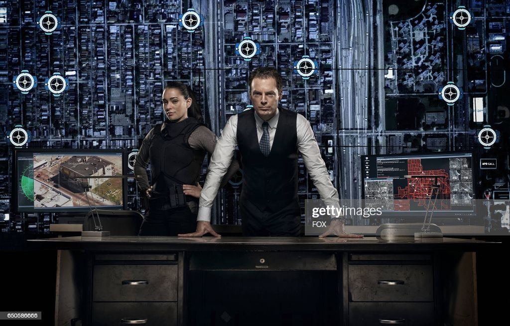 Natalie Martinez and Justin Kirk in APB premiering Monday, Feb. 6 (9:01-10:00 PM ET/PT) on FOX.