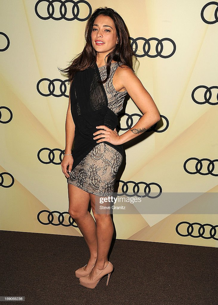 Natalie Martinez arrives at the Audi Golden Globe 2013 Kick Off Cocktail Party at Cecconi's Restaurant on January 6, 2013 in Los Angeles, California.