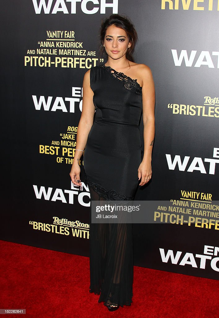 Natalie Martinez attends the 'End Of Watch' Los Angeles premiere at Regal Cinemas L.A. Live on September 17, 2012 in Los Angeles, California.