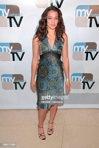 Natalie Martinez during 2006 MyNetworkTV UpFront at Hilton Theatre in New York City New York United States