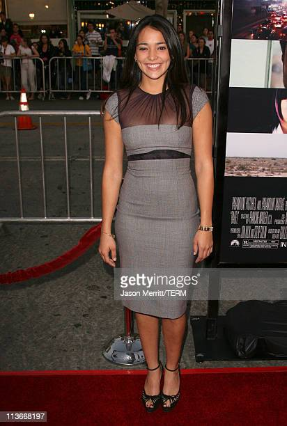 Natalie Martinez during 'Babel' Los Angeles Premiere Arrivals at Mann Village in Westwood California United States