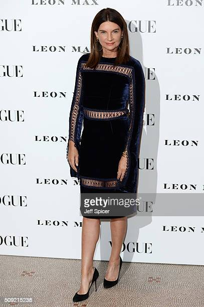 Natalie Massenet attends at Vogue 100 A Century Of Style at the National Portrait Gallery on February 9 2016 in London England